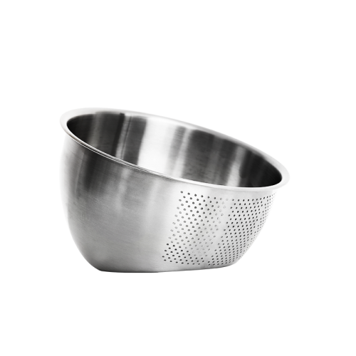 Double bottom wash rice basket